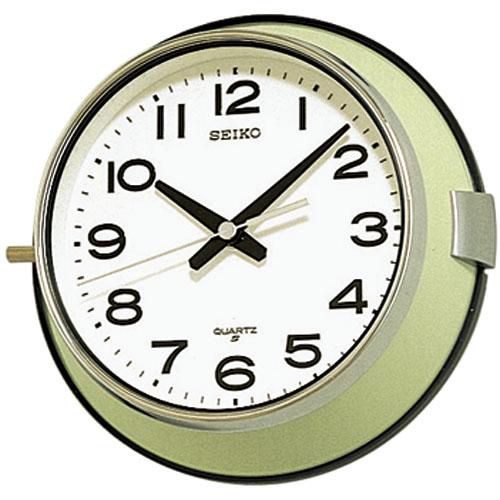 ほこりに強い防塵タイプです! セイコー掛け時計 SEIKO壁掛け時計 KS474M/時計 掛け時計 インテリア雑貨の ...